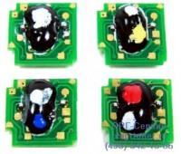 Чип черного картриджа HP Color LaserJet  Cp1215/1515N/1518NI/CM1312K