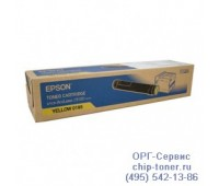 Картридж желтый Epson AcuLaser C9100 ,оригинальный