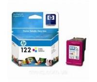 Картридж струйный HP 122 цветной,оригинальный