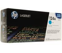 Картридж голубой HP Color LaserJet hp 124a ( Q6001A ) оригинальный