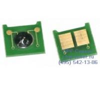 Чип голубого картриджа HP Color LaserJet CP3525dn
