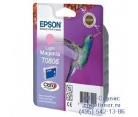 Картридж светло-пурпурный Epson T0806 оригинальный