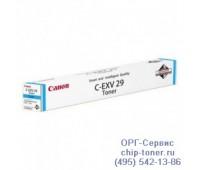 Картридж голубой Canon C-EXV29 Cyan Toner ,оригинальный