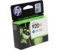 Картридж струйный голубой HP 920XL повышенной емкости оригинальный