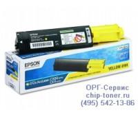 Картридж C13S050187 желтый для Epson AcuLaser C1100 / CX11N оригинальный